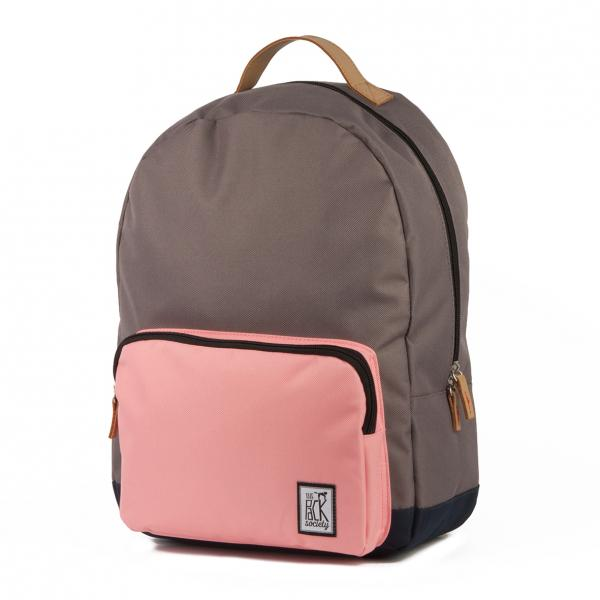 Рюкзак The pack society Classic Backpack (Charcoal/Pink/Midnight Blue-03)